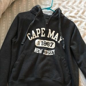 Other - Vintage cape May New Jersey part zip up hoodie